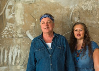 Mark Olson (Jayhawks) and Ingunn Ringvold on Tour