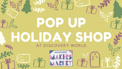 Holiday Pop Up Shop!