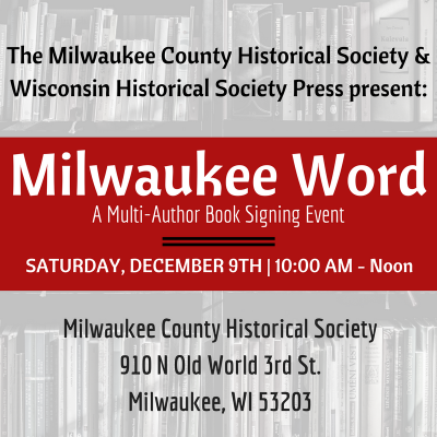 Milwaukee Word: A Multi-Author Book Signing