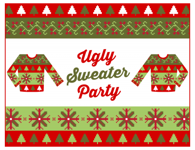 White Elephant and Ugly Sweater Social Dance Party