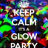 Glow Themed Social Dance Party