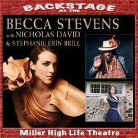 Becca Stevens with special guests Nicholas David and Stephanie Erin Brill