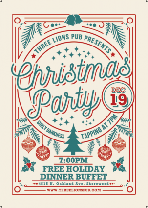 Three Lions Holiday Party