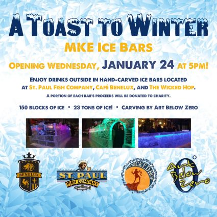 A Toast To Winter: MKE Ice Bars