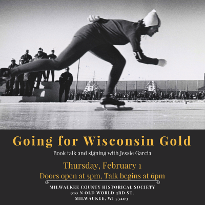 Going for Wisconsin Gold - Jessie Garcia Book Talk and Signing