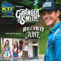 94.5 KTI Country presents Granger Smith with guests Runaway June