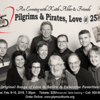 An Evening with Keith Abler and Friends...Pilgrims & Pirates Love @ 25