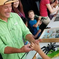Tony's Creepy Crawly Zoo at Discovery World