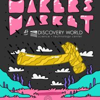 Spring Makers Market at Discovery World (414 Day!)