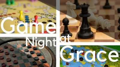 Happy Hobby Hour - Game Night at Grace