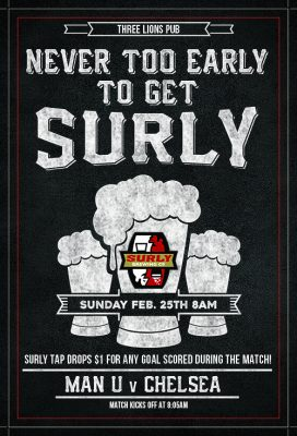 Never Too Early To Get Surly