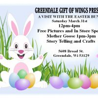 Visit The Easter Bunny at Greendale Gift of Wings