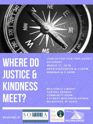 Where Do Justice and Kindness Meet?
