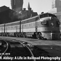 Wallace W. Abbey: A Life in Railroad Photography Gallery Opening (FREE EVENT)