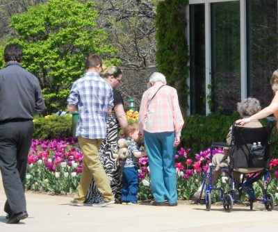 Mother's Day at the Gardens