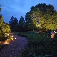 In the Gardens: Fundraiser & Night Lighting Debut with the Friends of Boerner Botanical Gardens