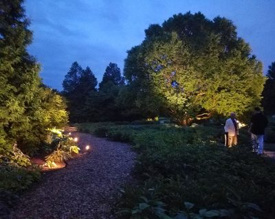 In The Gardens Fundraiser Night Lighting Debut With The Friends Of Boerner Botanical Gardens