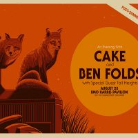 Cake with special guest Ben Folds at the BMO Harris Pavilion