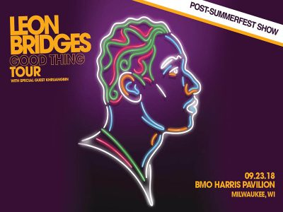Leon Bridges with special guest Khruangbin