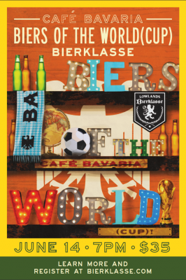 Biers of the World (Cup!) Bierklasse