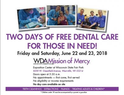 Wisconsin Dental Association Foundation Mission of...