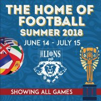 World Cup 2018 Tournament Viewing!