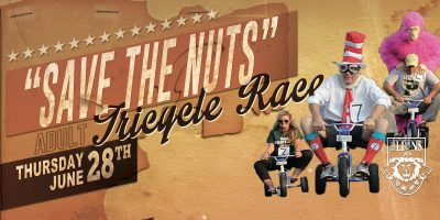 """Save The Nuts!"" 1st Annual Charity Tric Race"