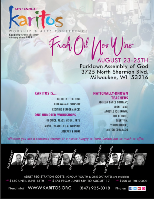24th Annual Karitos Christian Arts Conference 2018...
