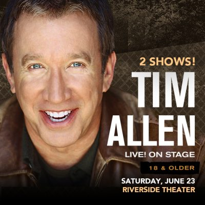 Tim Allen at the Riverside Theater