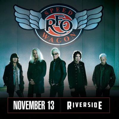 REO Speedwagon at the Riverside Theater