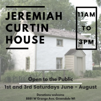 Historic Jeremiah Curtin House- Open to the Public