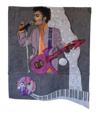 Commemorating His Purple Reign: A Textural Tribute to Prince