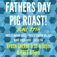 Father's Day Pig Roast at Nomad Nacional