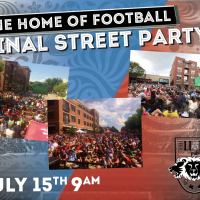 Football Cup Final Street Party!