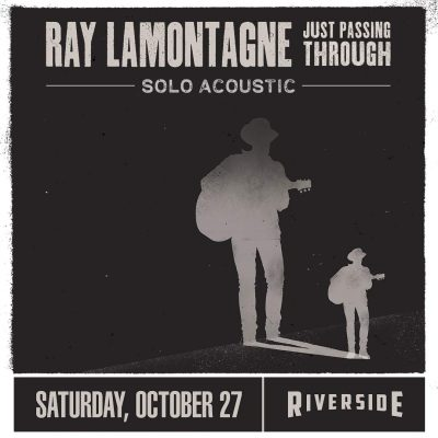 Ray LaMontagne at the Riverside Theater