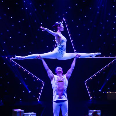 A Magical Cirque Christmas at the Riverside Theater