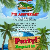 Jimmy's Island Grill & Iguana Bar 7th Anniversary Party