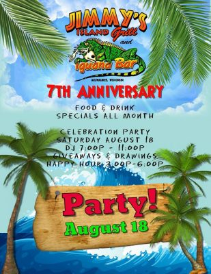 Jimmy's Island Grill & Iguana Bar 7th Annivers...