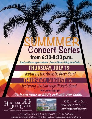 Summer Concert Series: The Garbage Picker's Band