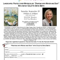 """""""Painting with Water and Dust"""" with Artist Colette Odya Smith"""