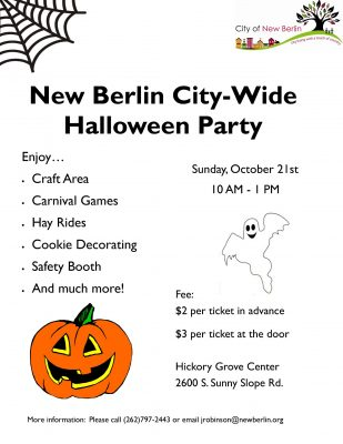 City-wide Halloween Party