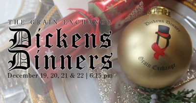 Dicken's Dinner - Wednesday, December 19