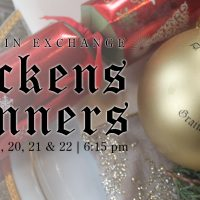 Dicken's Dinner - Saturday, December 22
