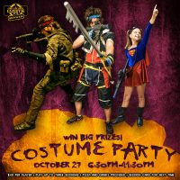 Laser Tag Costume Party