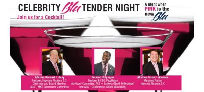 Celebrity Blu-Tender Happy Hour to Benefit the Ame...