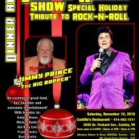Jesse Aron Variety Show and Dinner