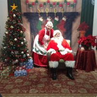 Pictures with Santa at Gift of Wings