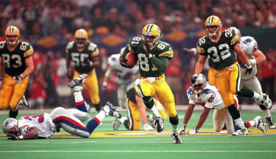 Green Bay Packer Super Bowl 31 Autograph Show