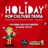 Holiday Trivia at the Monarch Lounge