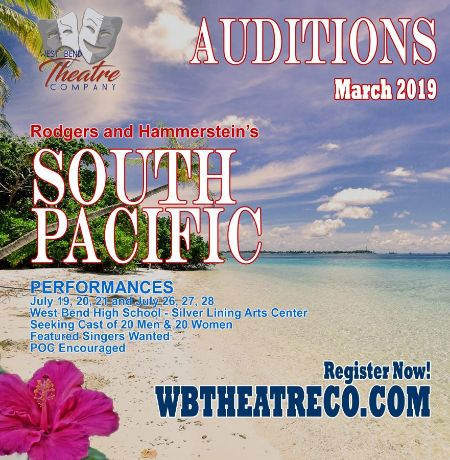 South Pacific: Auditions